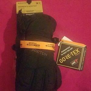 Women's burton goretex gore warm gloves xs